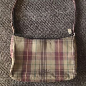 Ralph Lauren Plaid Purse